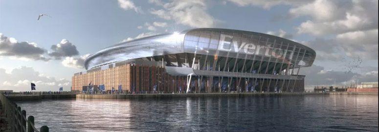 Everton New Stadium at Bramley Moore Dock